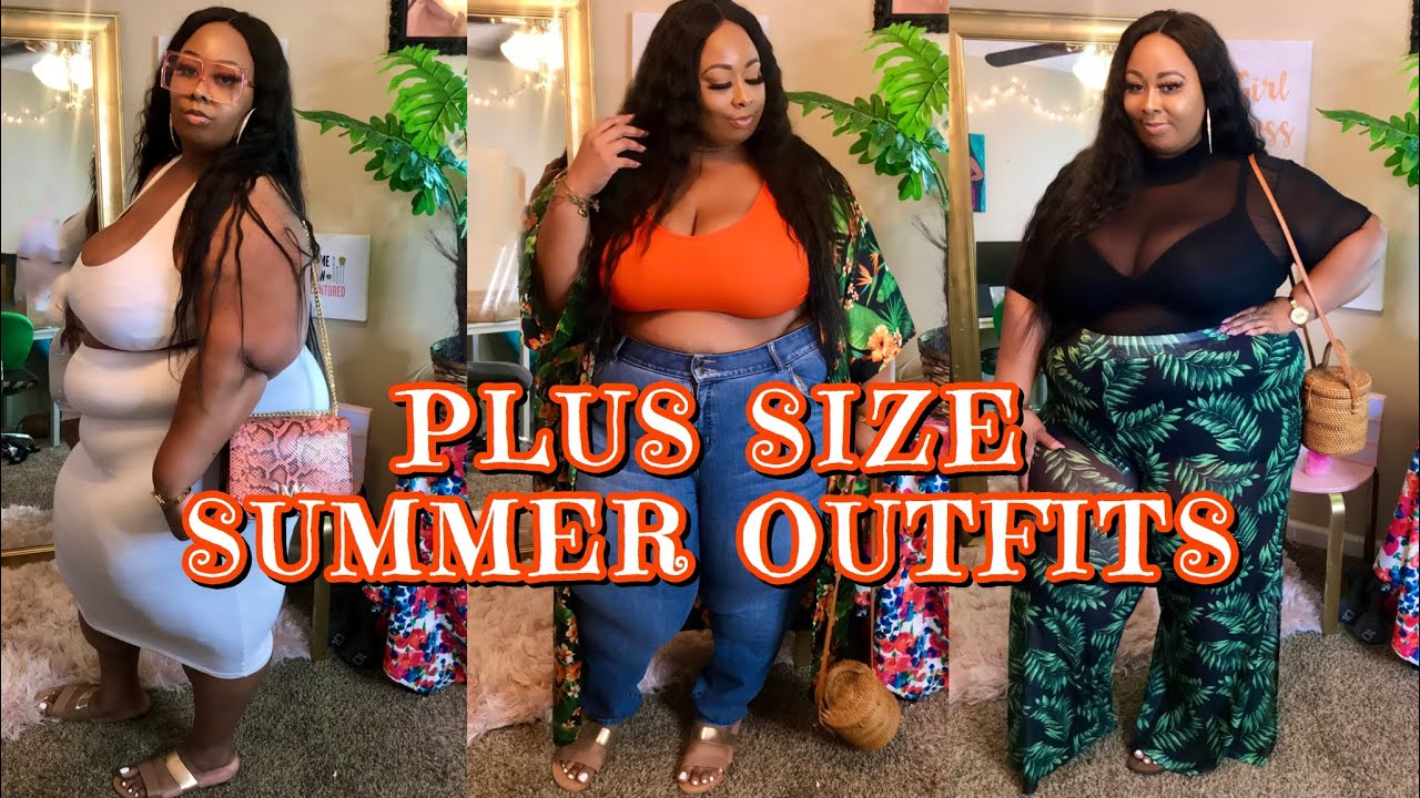 5 PLUS SIZE HOT GIRL SUMMER OUTFITS ☀️