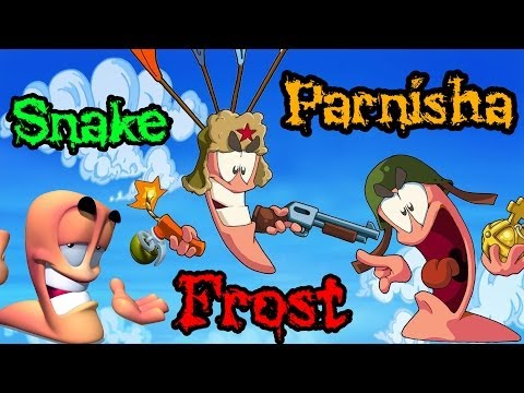 видео: Король Леонид! Frost VS Parnisha VS Snake (Worms) №4