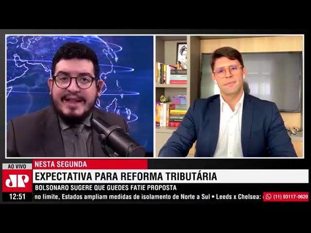 Pan News Sábado - 13/03/2021 - Expectativa para a Reforma Tributária