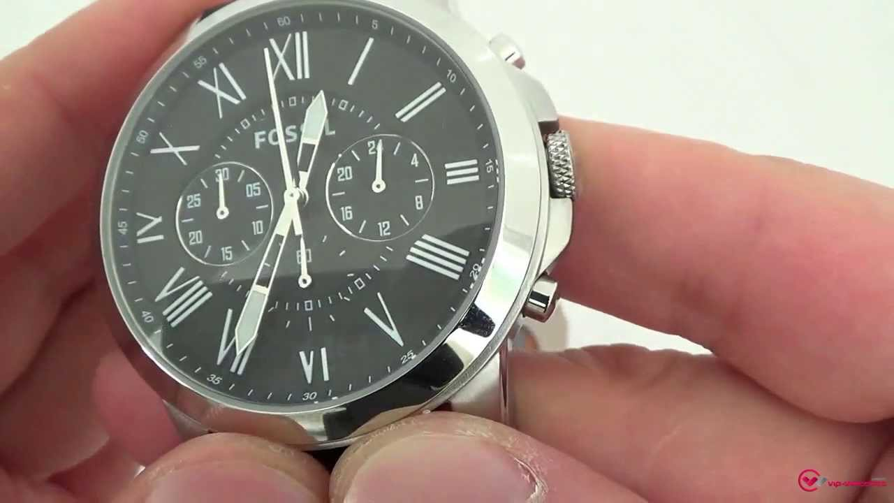 Connu Fossil - FS4812 - YouTube EJ03
