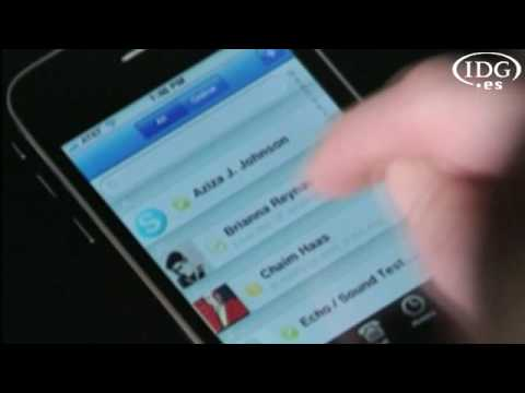 Skype para iPhone y Blackberry
