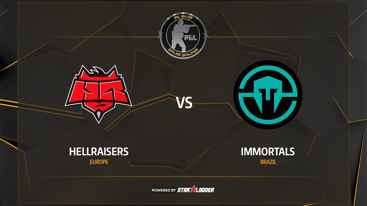 HellRaisers vs Immortals, overpass, PGL Major Krakow 2017 Main Qualifier