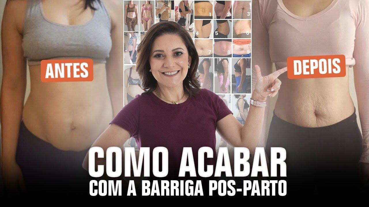8b0f3415a35e27 Como Acabar com a Barriga Pós-Parto? Personal Gestante Gizele Monteiro  Explica!