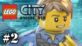 LEGO City Undercover - Part 2 -  Continue the Chase (WII U Exclusive ) (HD Gameplay Walkthrough)
