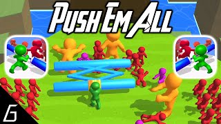 Push Em All Gameplay - First Levels 1 - 15 (iOS - Android)