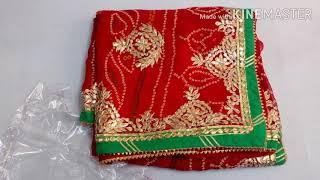 Top 100 Rajasthani Chunari Saree Designs // Rajasthani Saree Trendy Collections // Pallavi Mehta
