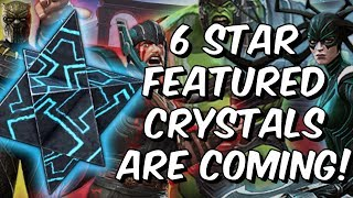 6 Star Featured Crystals Are Coming! - Marvel Contest Of Champions thumbnail