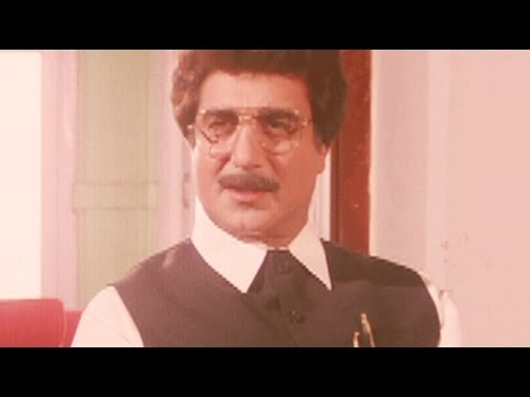 Raj Babbar planning to kill Vinay Apte, Police Force - Scene 3/10