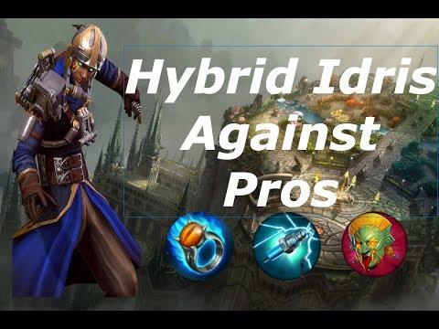 Broken Hybrid Idris Against Pros - Vainglory 5v5