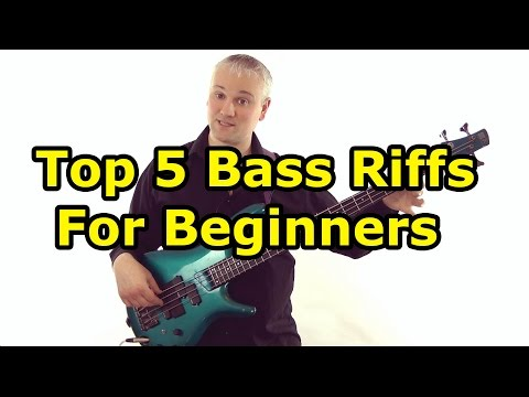 Top 5 Must Know Bass Riffs For Beginners