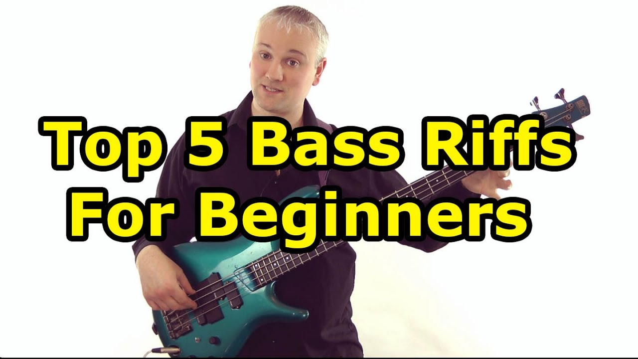top 5 must know bass riffs for beginners youtube. Black Bedroom Furniture Sets. Home Design Ideas