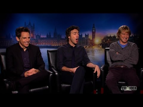 Ben Stiller, Owen Wilson & Shawn Levy Interview: Night at The Museum Mp3