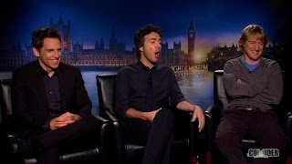 Ben Stiller, Owen Wilson & Shawn Levy Interview: Night At The Museum