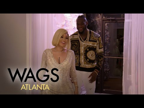 WAGS Atlanta | See Telli Swift & Deontay Wilder's Gender Reveal Party | E!