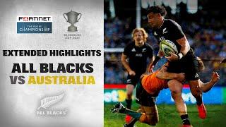 EXTENDED HIGHLIGHTS: All Blacks v Australia (Third Test  2021)