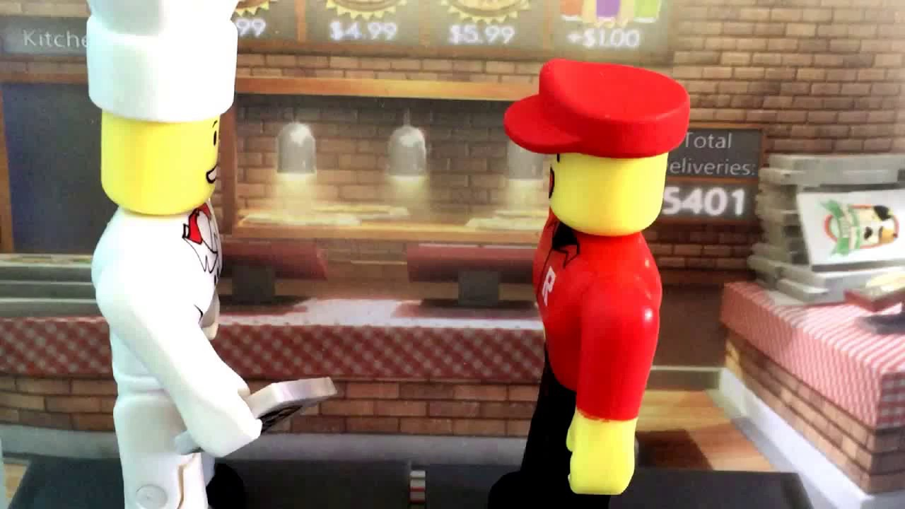 Roblox Stop Motion Pizza Delivery Episodes 1 Youtube