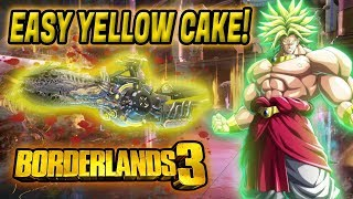 EASY YELLOW CAKE! How to Get an EASY YELLOW CAKE in Borderlands 3| Mayhem 10 Yellow Cake Farming