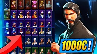 IT IS RICHES ON FORTNITE! SKINS, I'm FREE to DO it!😱