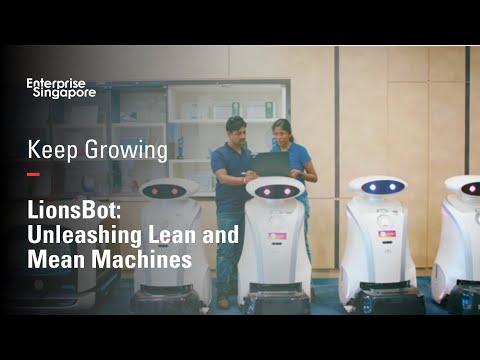 LionsBot | Keep Growing | Enterprise Singapore
