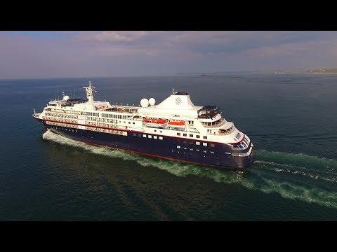 DJI Phantom 3 Advanced - Passenger Ship Silver Cloud Outbound From Sunny Portrush