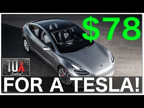 🚗 How To Purchase A Tesla For $78 Per Month | Business Tax Deductions 101 // 10X Academy