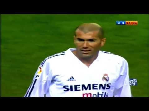 Zidane vs Atletico Madrid (2004-05 La Liga 18R) 720HD