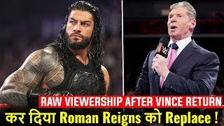 Roman Reigns REPLACED ! Raw NEW RATINGS REVEALED ! WWE Smackdown 18 December 2018 Highlights !