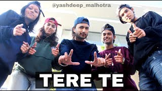 Tere Te | Guru Randhawa | Yashdeep Malhotra | Dance | Choreography