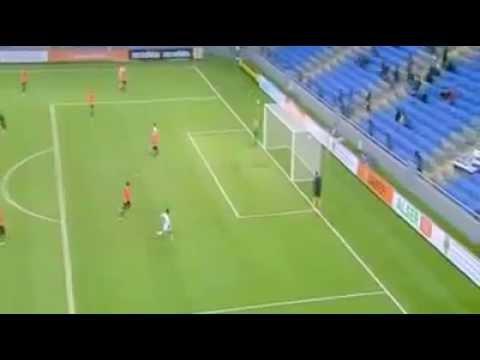 Goal of Lucas Pérez - FC Shakhter Karagandy vs. PAOK Saloniki
