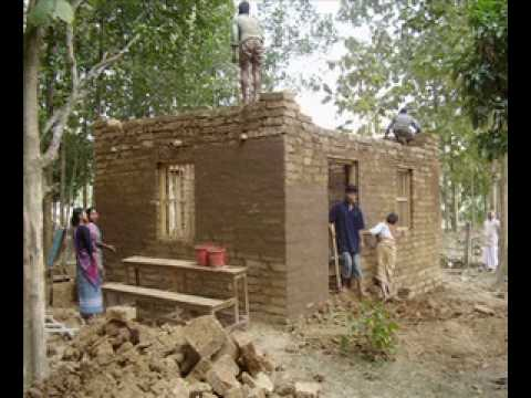 Building a house in pirgacha construir una casa en - Casas miniaturas para construir ...