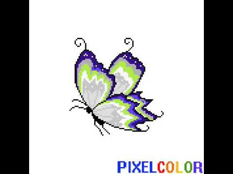 Pixel Art Papillon
