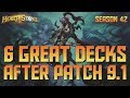 6 Great Decks after the 9.1 Nerf - Knights of the Frozen Throne