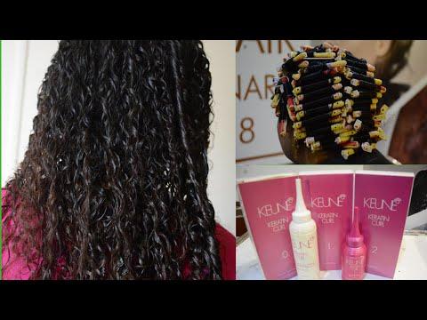 Permanent Hair Perming Procedure || Hair Perming