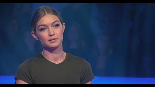 Gigi Hadid Tears Up Talking Family on MasterChef Celebrity Showdown