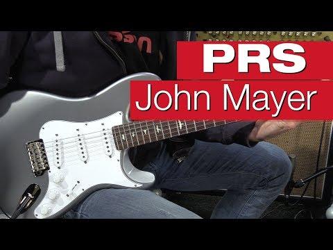 PRS John Mayer JM Silver Sky Tungsten E-Gitarren-Review von session
