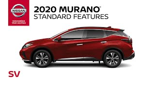 homepage tile video photo for 2020 Nissan Murano SV Walkaround & Review