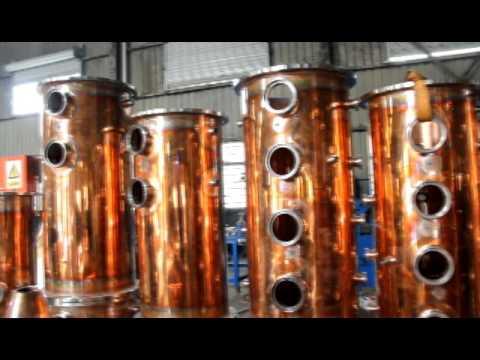 Copper Alcohol Distillation Equipment