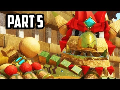 Knack 2 Gameplay Walkthrough Part 5 - Chapter 4 (PS4 PRO 60fps)