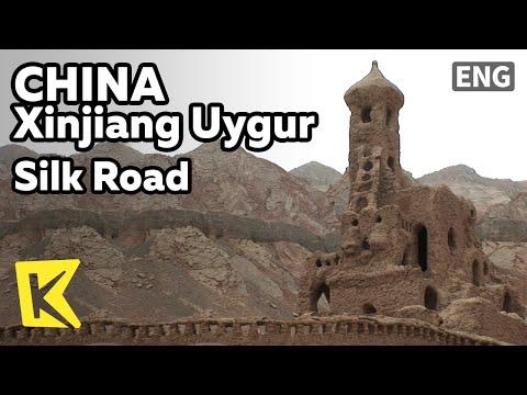【K】China Travel-Xinjiang Uygur[중국여행-신장위구르자치구]불모의 땅에 건설한 도시/Silk Road/TianShan/Taklamakan Desert