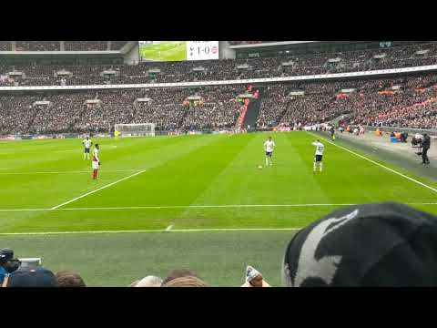 Spurs V Arsenal - Jan Vertonghen's 'Silky' overhead kick and some good play