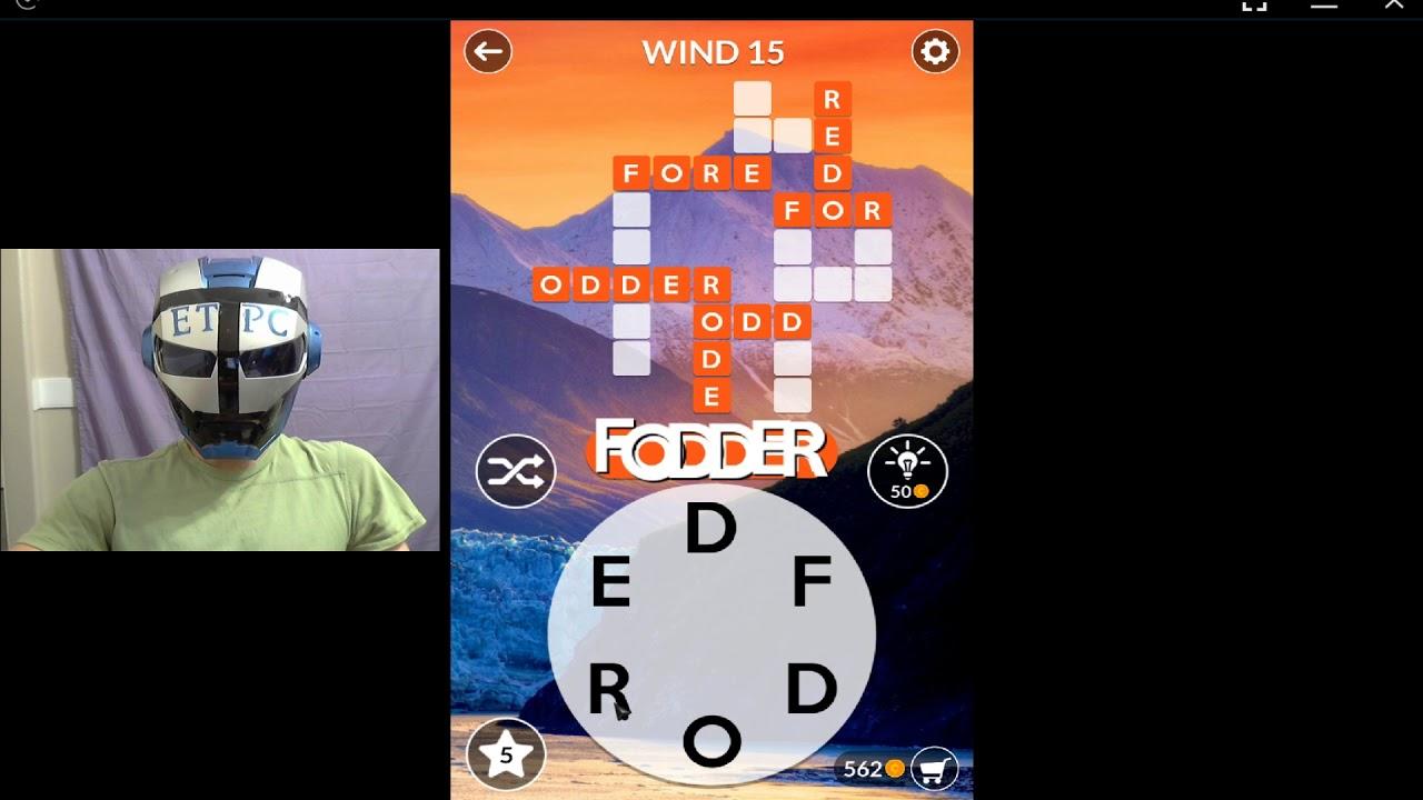 Wordscapes Wind 15 Answers Masaya Ang Mga Salita Youtube