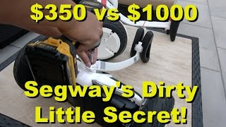 Segway's Dirty Little Secret - Ninebot mini Upgrade to Segway miniPRO (4K)(If you still want to pay a premium for the Segway miniPRO, you can get it here on Amazon: http://amzn.to/28MSmXL However if you want to pay less and get the ..., 2016-07-21T03:03:35.000Z)
