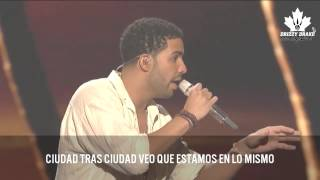 Drake - Side Pieces (feat. Brian McKnight) (Subtitulado En Español)
