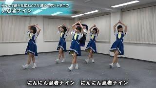 ロッカジャポニカの振りVTR動画、忍者ナイン編を公開しました!! ※忍者ナ...