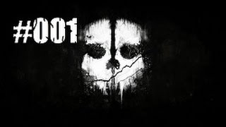 Let's Play Call of Duty Ghosts [HD] #001 Willkommen beim Ghost Trupp