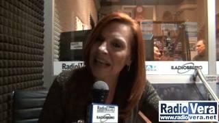 Patrizia Rossetti negli studi di Radio Vera