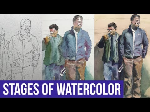 Watercolor Painting for Beginners | step by step
