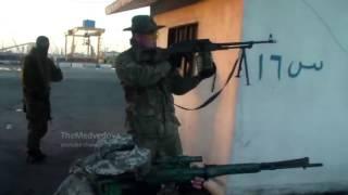 доказательства присутствия ВС РФ в Сирии: тренировка спецназа в Тартусе