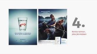 Mainonnan vaikuttavuus: Osa 8: Hyvän mainoksen 10 sääntöä