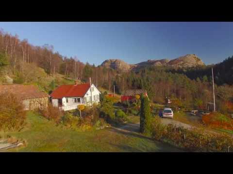 Autumn in Sandnes, Norway - Drone 4k